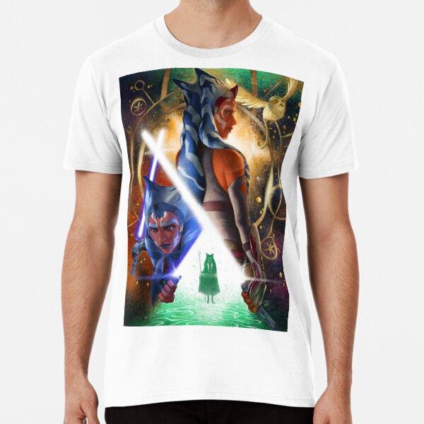 Ahsoka Tano Lives Premium T-Shirt