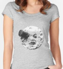 moon Women's Fitted Scoop T-Shirt