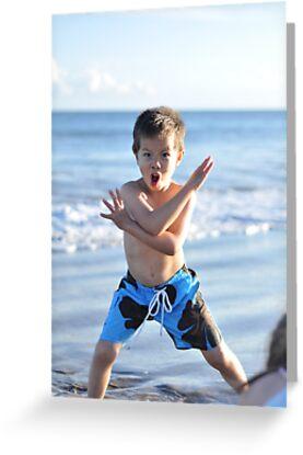 Kung Fu boy by Teemu