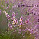 Lavender Beauty Love by Marilyn Cornwell
