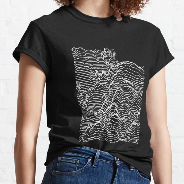 Utah - Unknown Elevations Topography Map (Without Text) Classic T-Shirt