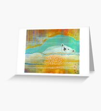 We are Dreaming of the Stars Greeting Card