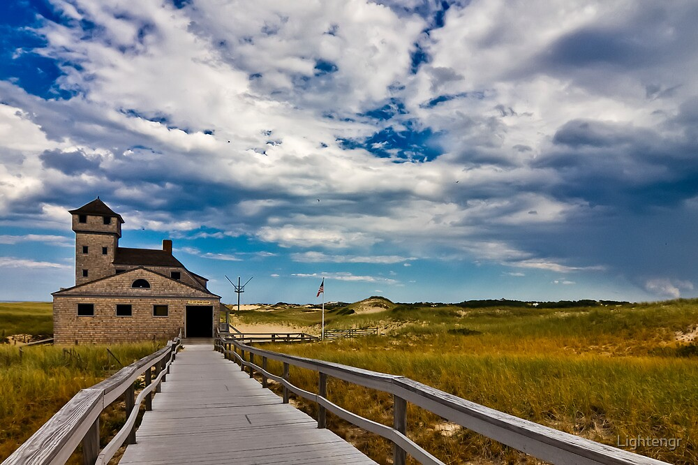 Old Lifesaving Station - Cape Cod by Lightengr