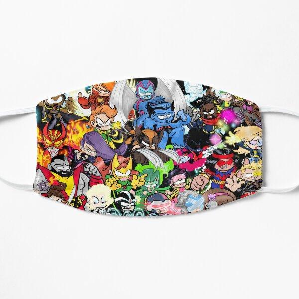 Xcutie collage Flat Mask