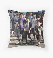 Assemblage Throw Pillow