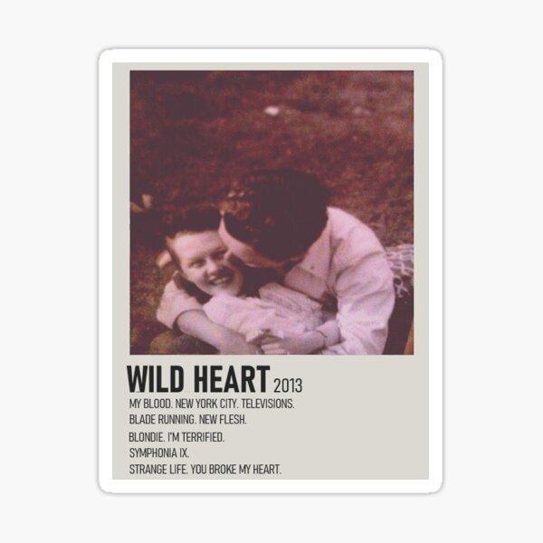 Polaroid Poster - Wild Heart by Current Joys Sticker