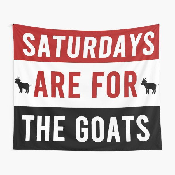Saturdays Are For The Goats - WPI Tapestry