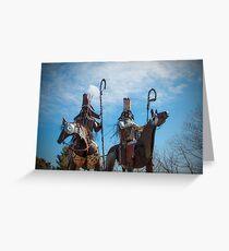 Blackfoot Tribe Greeting Card