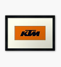 KTM Framed Print