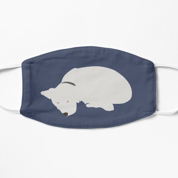 Cute Sleeping Dog Mask