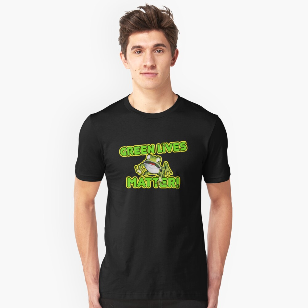 Frogger Green Lives Matter Unisex T-shirt - S to 3XL