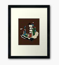 Book City Framed Print