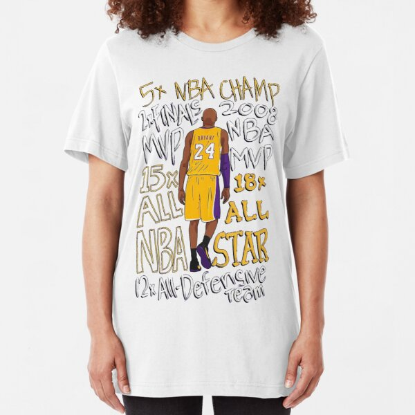 "Legend kobe bryant King RIP 1978-2020 | ""HiSVG.COM"" Slim Fit T-Shirt"
