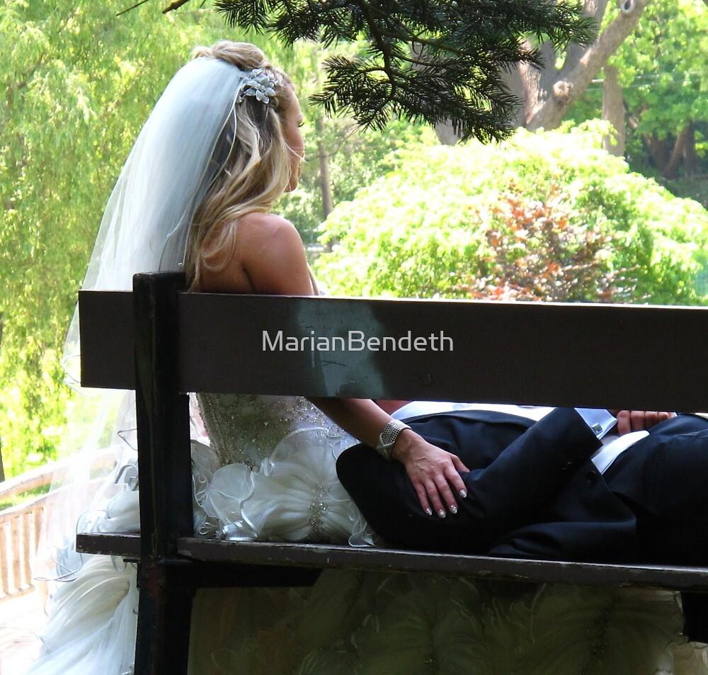 A Wedding Day break by MarianBendeth
