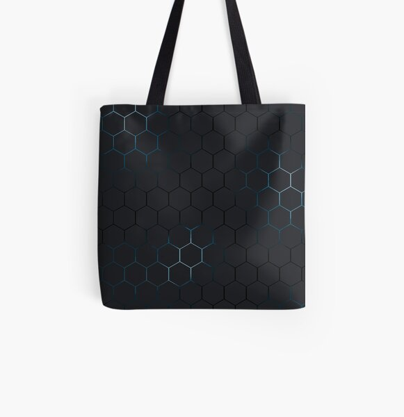 Futuristic honeycomb  All Over Print Tote Bag