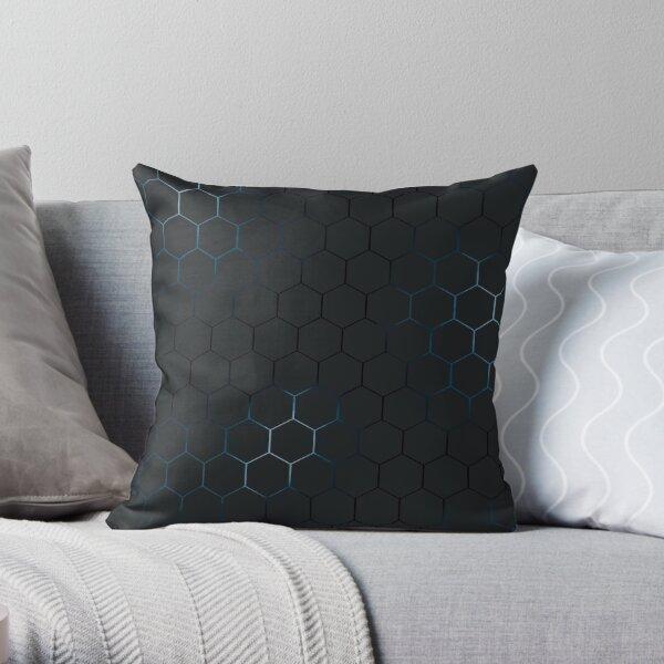 Futuristic honeycomb  Throw Pillow