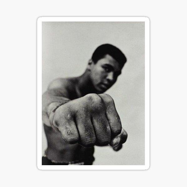Mohamed Ali se préparant au combat Sticker