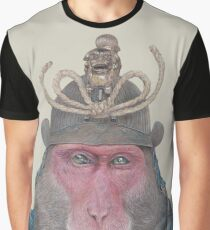 Japanese Macaque Graphic T-Shirt