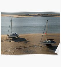 Barmouth Estuary in morning light Poster