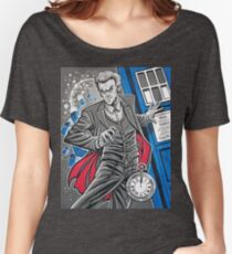 """The Twelfth Doctor (""""All Thirteen!"""") Women's Relaxed Fit T-Shirt"""