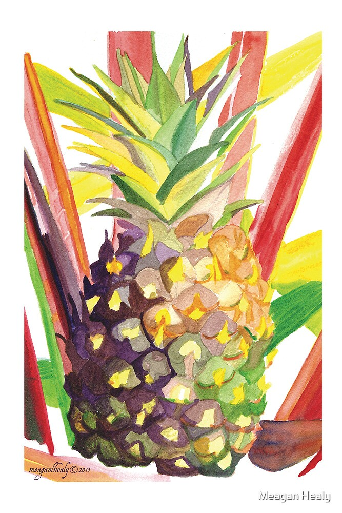 """""""Tropical Popsicle Pineapple"""" © 2011 Meagan Healy by Meagan Healy"""
