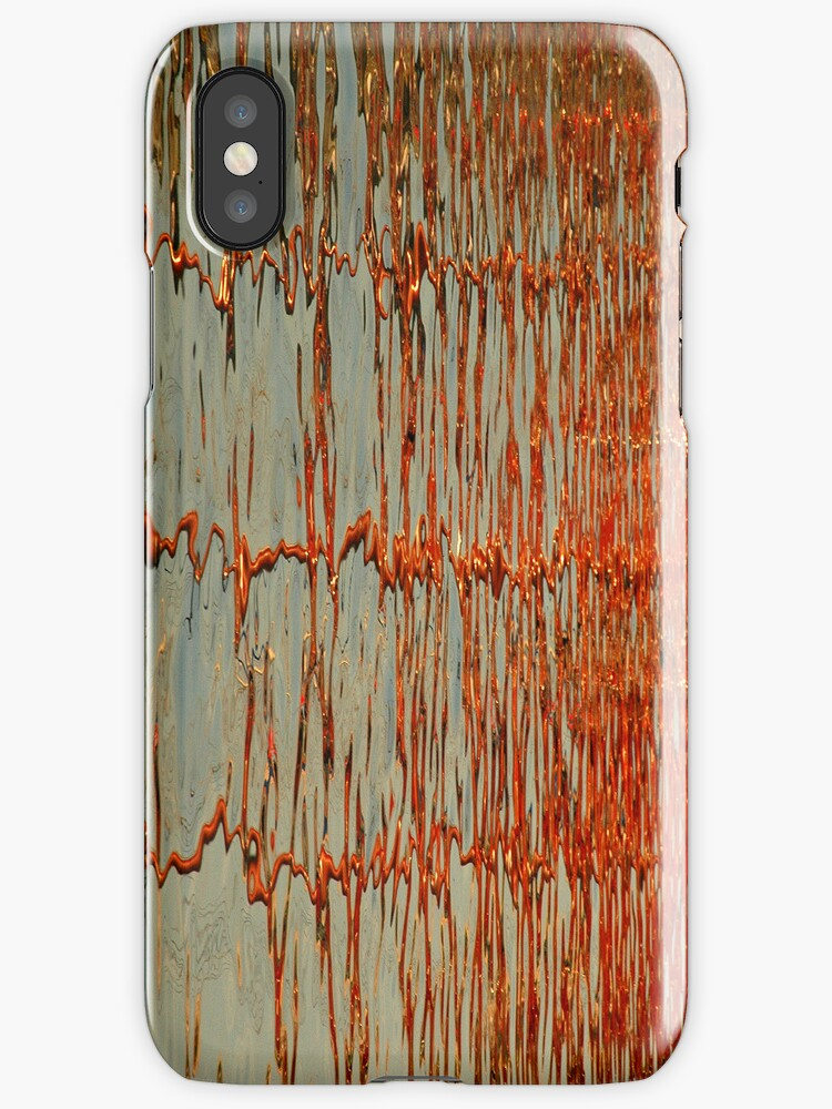 Abstract reflection patterns1-  iphone case by shelfpublisher