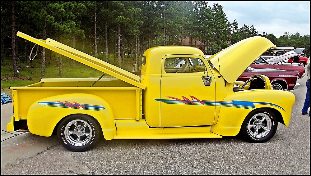 YELLOW TRUCK by Eric langley