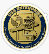 USS Enterprise (CVN-80) Crest Sticker