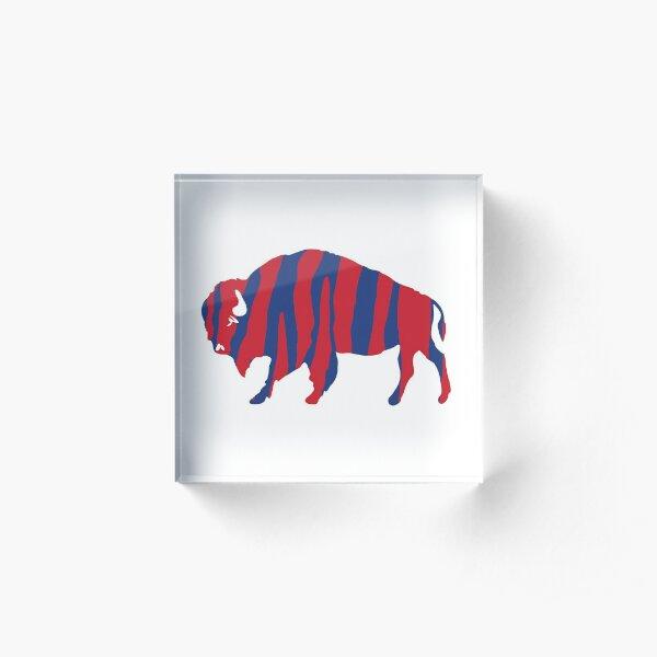 Zubas Bison Acrylic Block