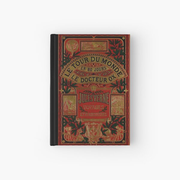 Jules Verne Around The World In Eighty Days Hardcover Journal