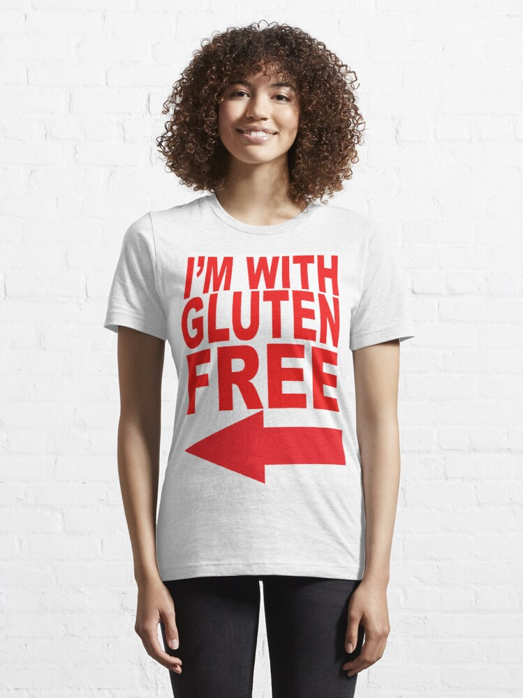 Alternate view of I'm With Gluten Free T-Shirt Essential T-Shirt