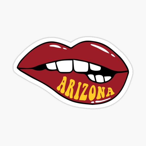 Arizona Lips Sticker