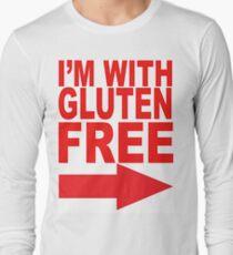 I'm With Gluten Free T-Shirt (right arrow) Long Sleeve T-Shirt
