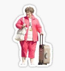 Spy Melissa McCarthy Suitcase Sticker