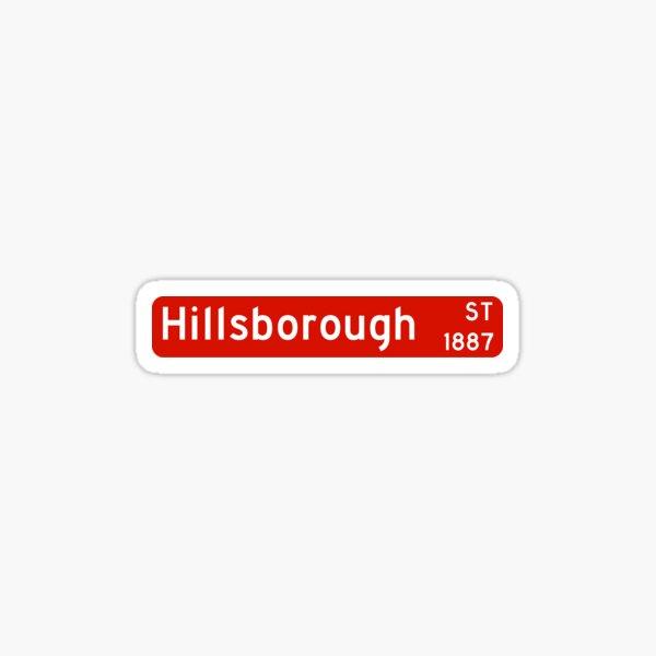 NC State Hillsborough Street Sticker
