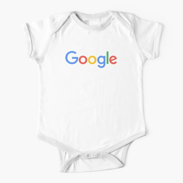 Google Short Sleeve Baby One-Piece