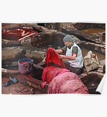 In the Dyeing Pits Poster