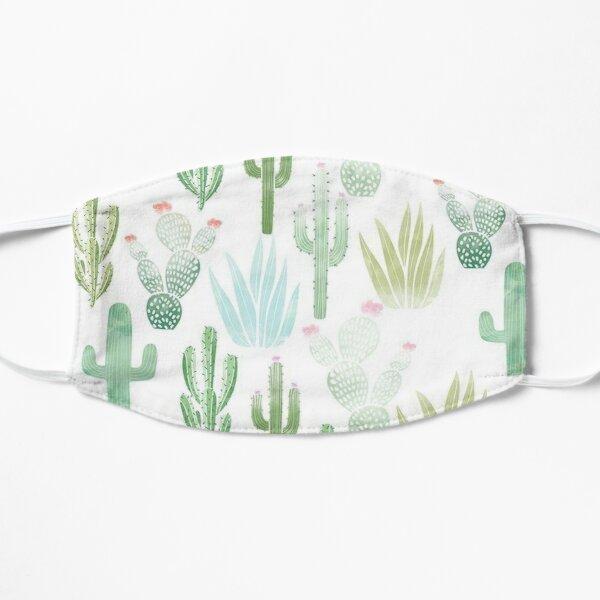 cactus farm Flat Mask