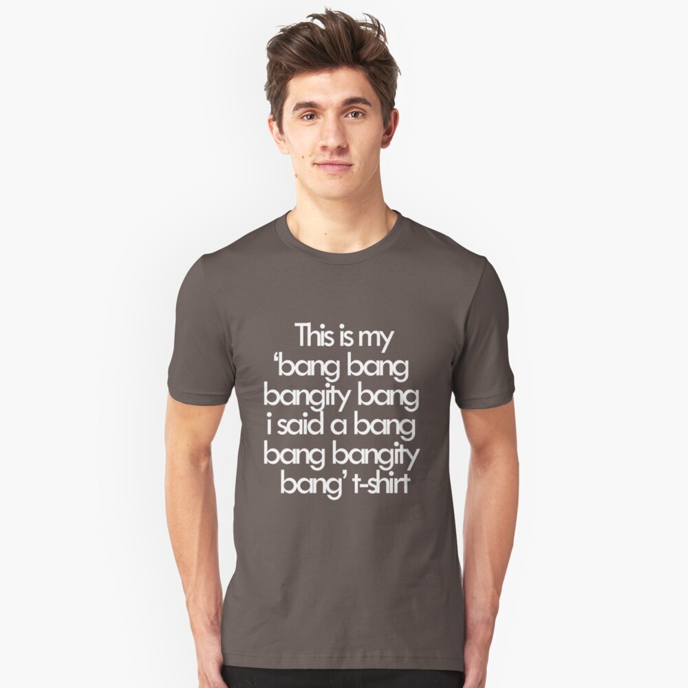 If you know what I mean Unisex T-Shirt Front