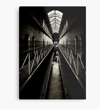 Melbourne Gaol Metal Print