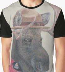 Canadian Moose Graphic T-Shirt