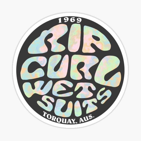 Conception Tie Dye Rip Curl Sticker