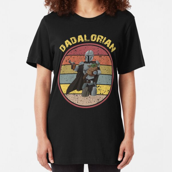 DADALORIAN  Slim Fit T-Shirt