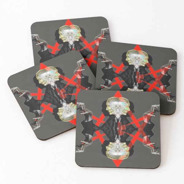 Universal Hex-agram Coasters (Set of 4)