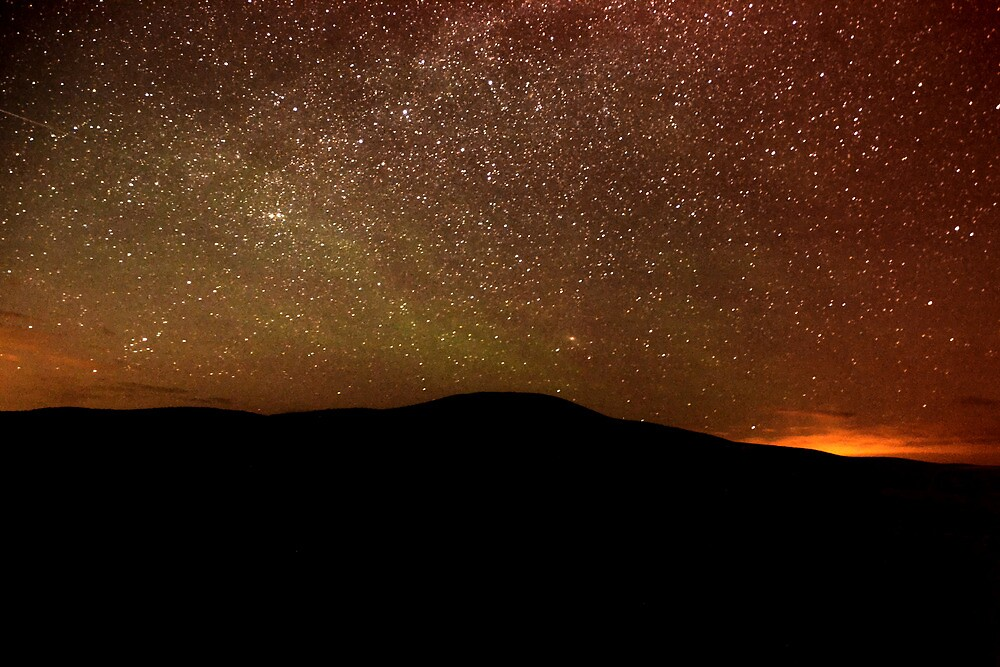 Jameson Lake Night Sky by Badbrew
