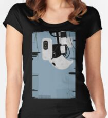 Reboot.exe Women's Fitted Scoop T-Shirt