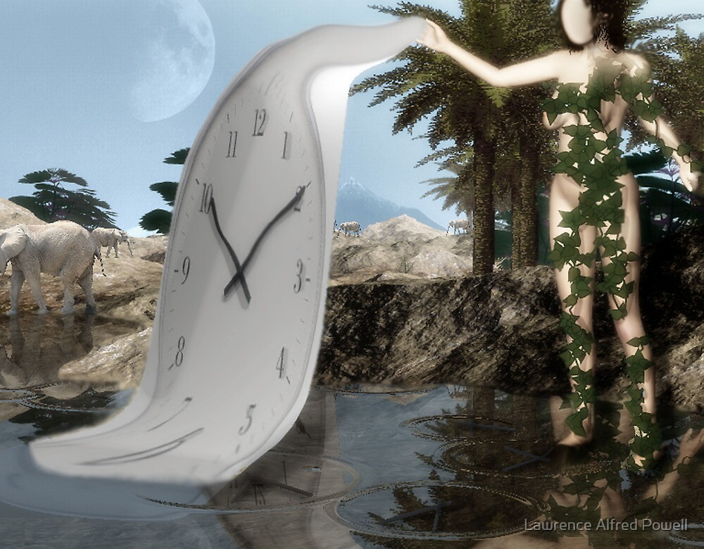 Original genesis of time  by Lawrence Alfred Powell