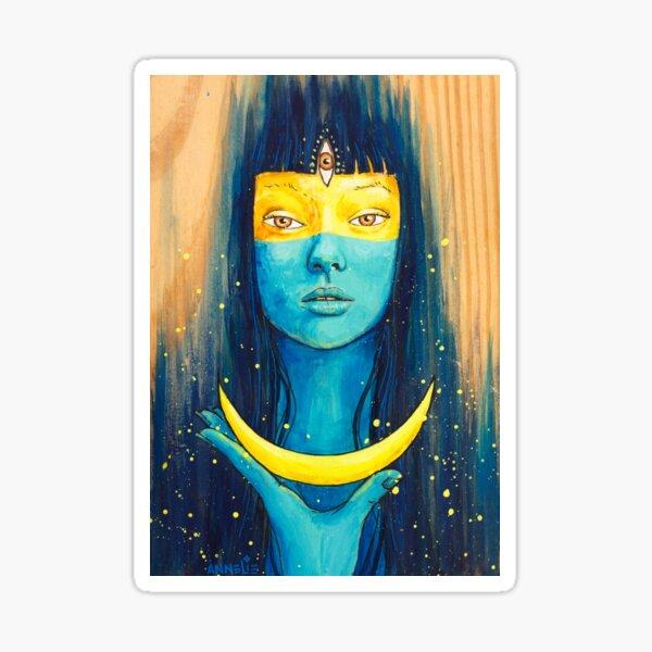 Wisdom of Luna Sticker