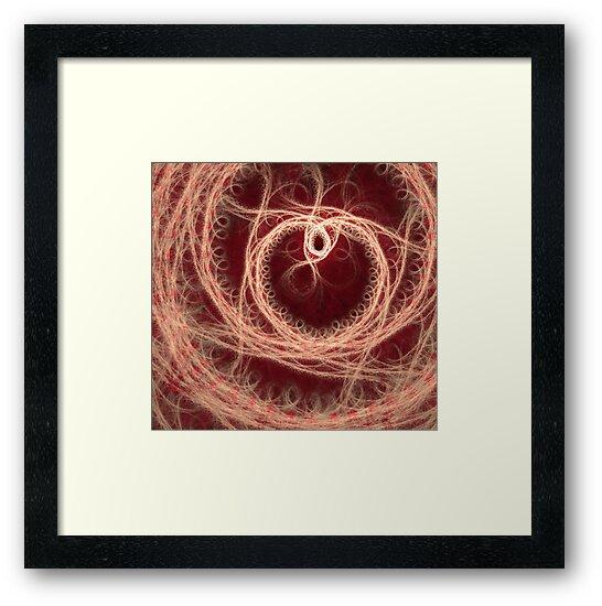 Fractal Heart Artwork by cshphotos