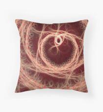 Fractal Heart Artwork Throw Pillow